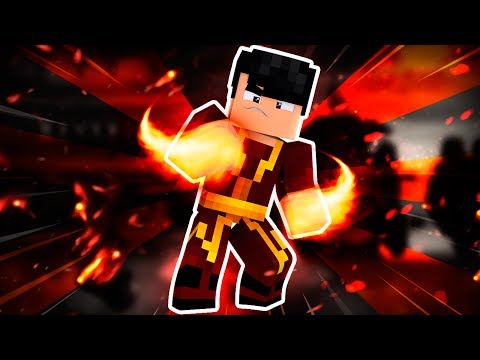 GANHEI OS SUPER PODERES DE FOGO DO AVATAR No MINECRAFT