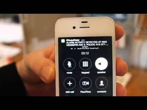 IPAutoDialer Test In Action VOIP ALARM AUTO DIALER