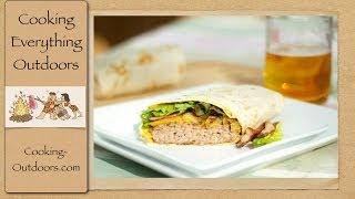 Burgeritos  Super Bowl Recipe  Cooking Outdoors  Gary House