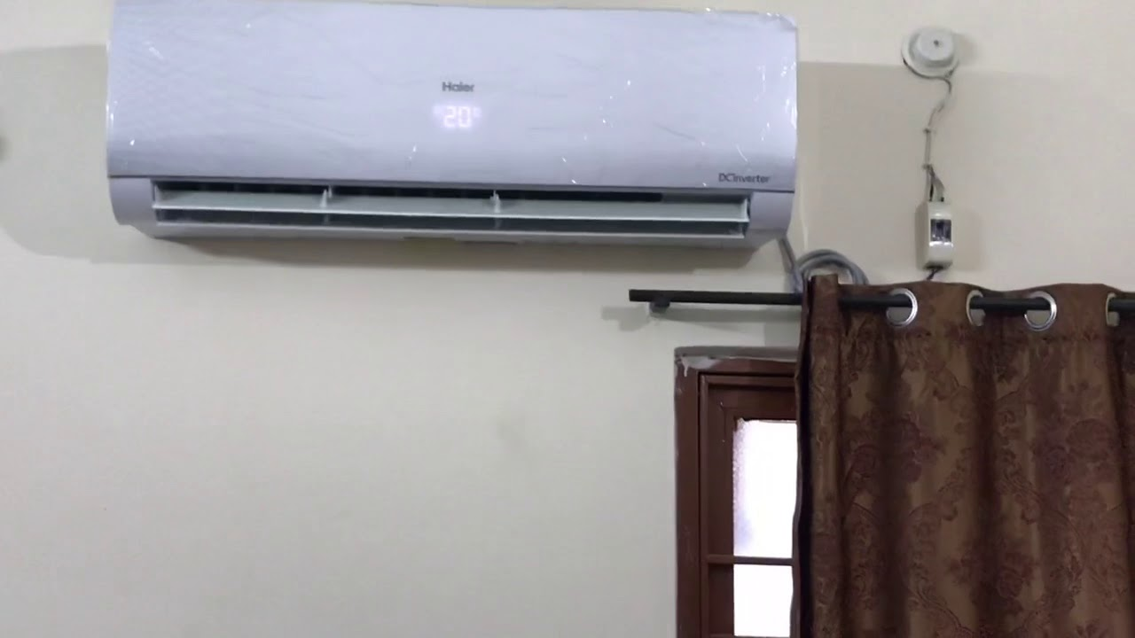 Haier dc inverter 1.5 ton ups 2018 model HSU-18SNI first review on on