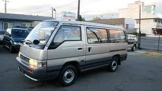 1993 Nissan Caravan GT 4X4 Turbo Diesel Td27t (по-русски) 86,700km