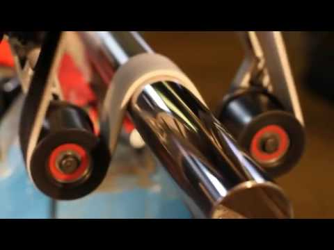 Metabo RBE 12-180 SET Masina de slefuit inox, 1200 W - YouTube