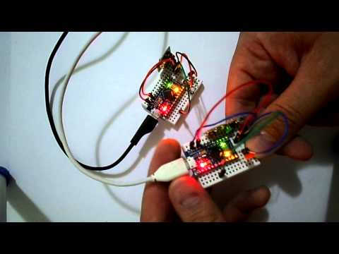Led ON/OFF With 433MHz Wireless RX/TX Module And Arduino Micro