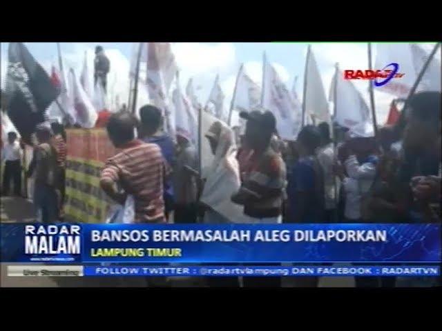 Bansos Bermasalah Anggota Legislatif DPRD Lampung Timur Dilaporkan