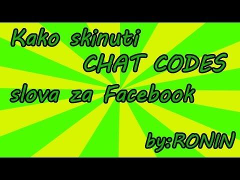 Kako Napraviti Chat Codes Slova Za Facebook