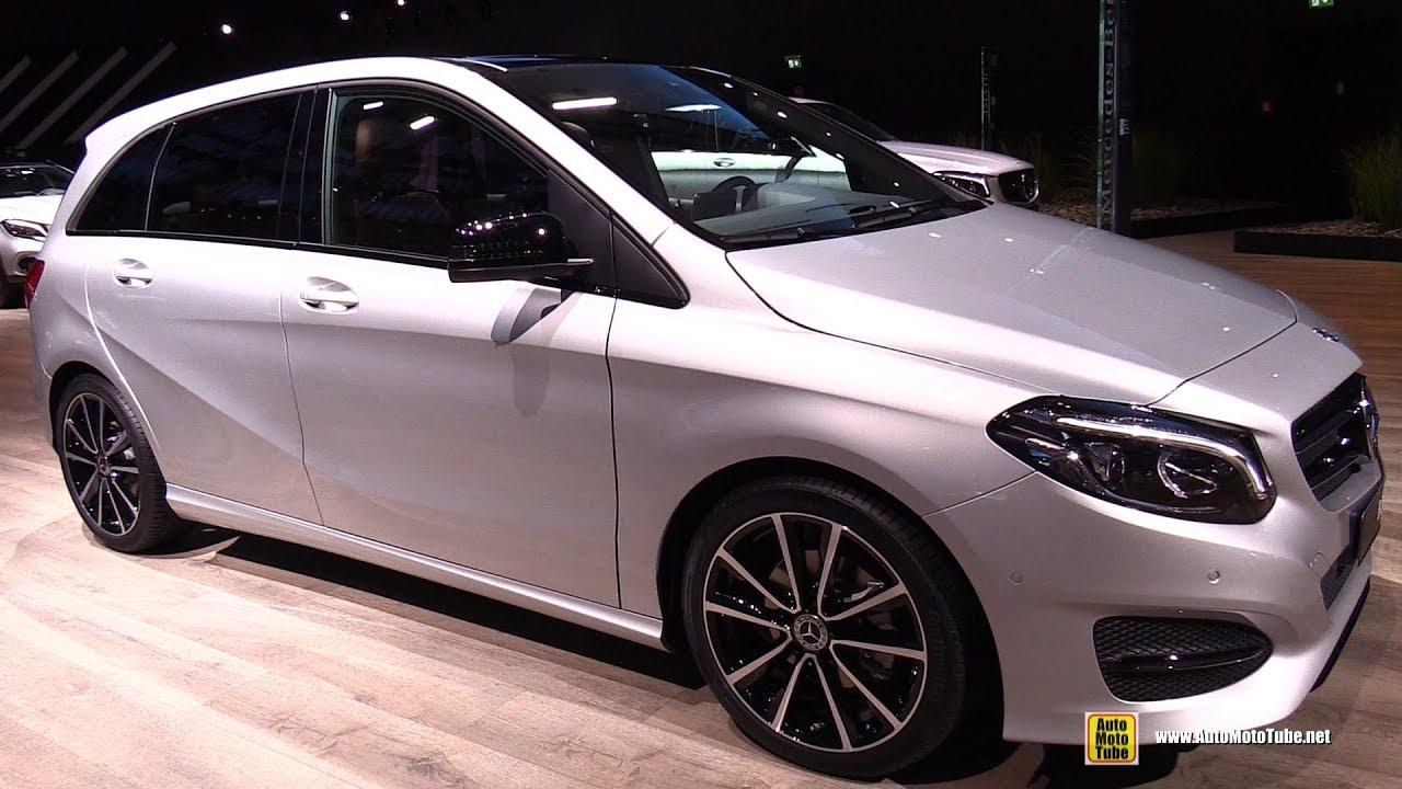 2018 Mercedes B200 Exterior And Interior Walkaround 2017 Frankfurt Auto Show