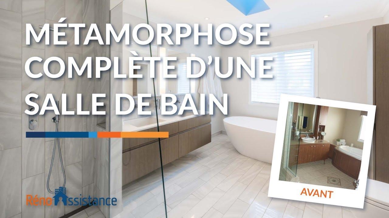 Salle De Bain Moderne Avant Après  Visite Rénovation à