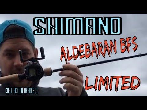 Shimano Aldebaran BFS Limited Deutsch/ Cast Action Heroes 2