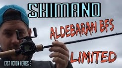 Shimano Aldebaran BFS Limited Deutsch/ Cast Action Heroes 2