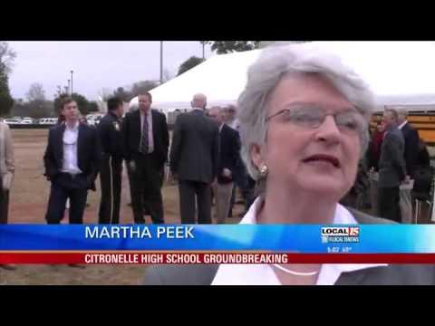 Citronelle High School Groundbreaking