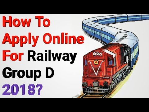 How To Apply Railway Group D 2018