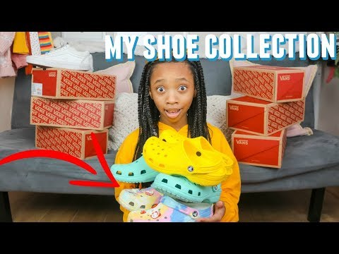 MY SHOE COLLECTION 2020 | Vans And Crocs| Just Jordyn