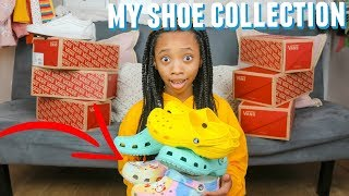 Gambar cover MY SHOE COLLECTION 2020 | Vans and Crocs| Just Jordyn