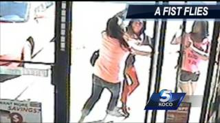 Cameras capture outrageous fight at Midwest City store