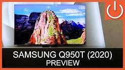 SAMSUNG Q950T Serie - 2020 - Bester Samsung 8K QLED TV aller Zeiten