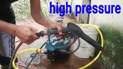 Water pressure machine for car and 2 wheeler washing, car wash,nitto rai,ac cleaning machine
