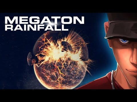 Megaton Rainfall Part 3 BLOWING UP EARTH! Flying across the Galaxy | Megaton Rainfall Gameplay