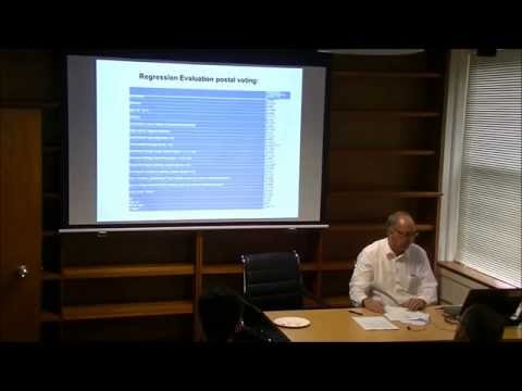 "Norbert Kersting ""Secrecy of the ballot and postal voting"" 14 Oct 2014"