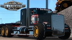 American Truck Simulator: Oversize Load (and tires) in Raton New Mexico