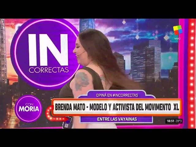 Moria Casán Furiosa Con Brenda Mato La Modelo Plus Size