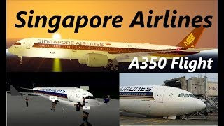 [ROBLOX] Singapore Airlines A350-900 Flight! | Delays & Glitches
