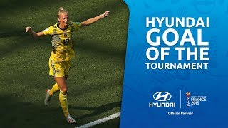 Sofia JAKOBSSON – HYUNDAI GOAL OF THE TOURNAMENT – NOMINEE