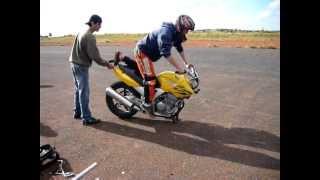 1º Treino sem bengala twister - Biker Insane
