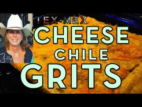 Tex-Mex Green Chile Cheese Grits