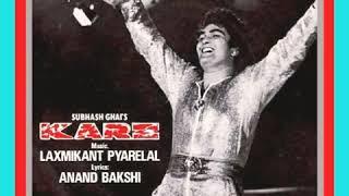 Paisa Yeh Paisa.Karz1980.Kishore Kumar.Laxmikant PyareLal.Rishi Kapoor.Teena Munim.Simi Grewal.Pran.