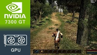 Gothic 3 Forsaken Gods Enhanced Edition Gameplay GeForce 7300 GT