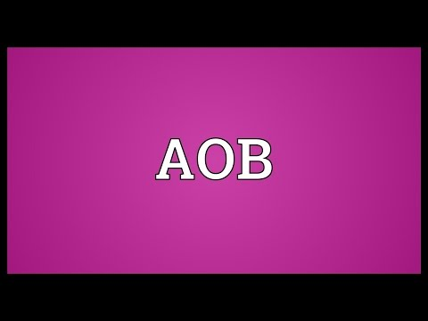 AOB Meaning