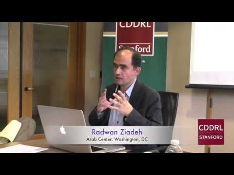 """ARD Stanford: Radwan Ziadeh on """"The Russian Intervention and the Syrian Crisis,"""" April 27, 2016"""