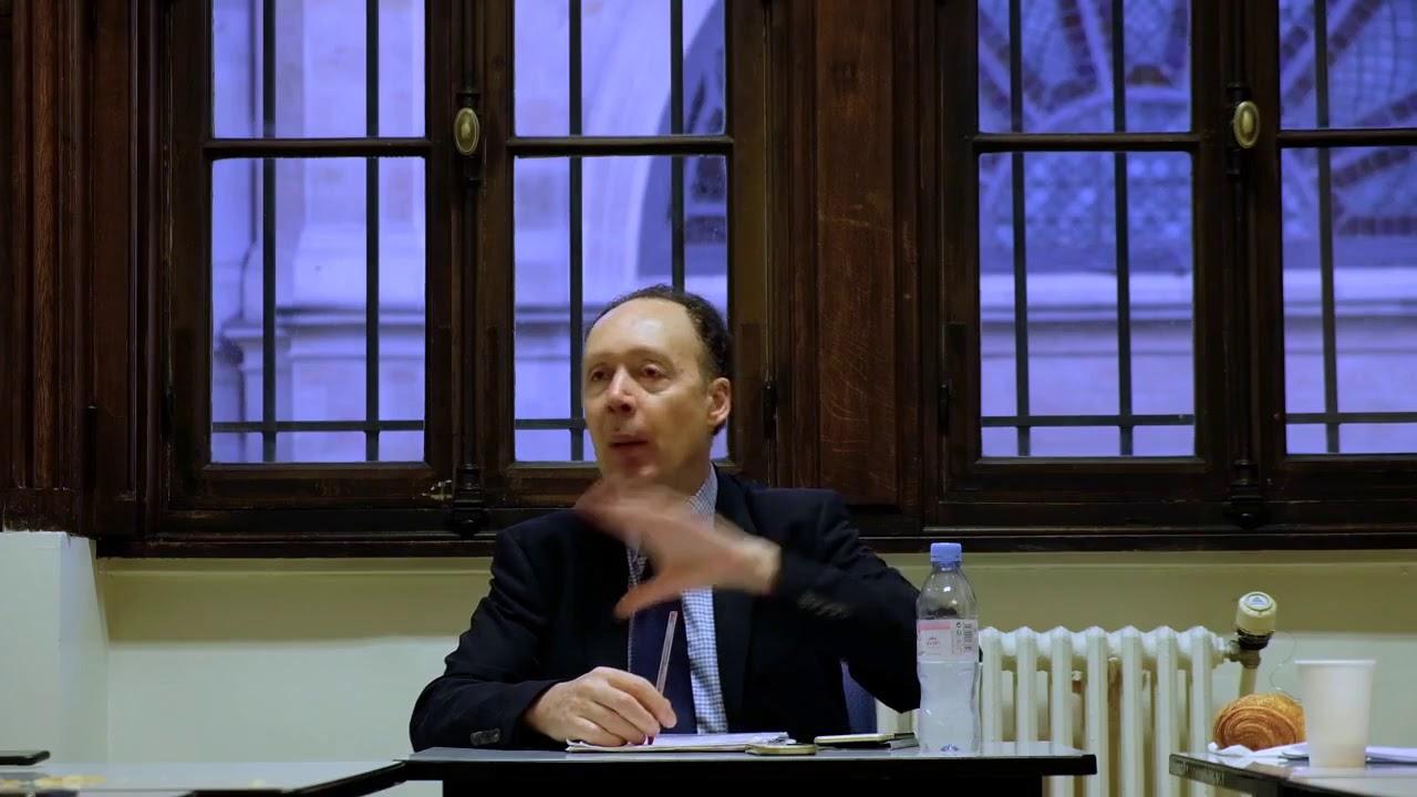 Francis Perrin en Sorbonne, pétrole et tensions dans le golfe arabo-persique