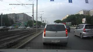 Авария. Барнаул Попова/Юрина