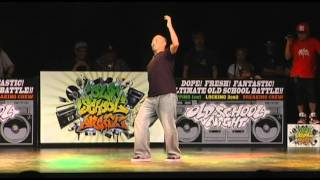 OLD SCHOOL NIGHT VOL.14 POPPING FINAL BATTLE【MADOKAvsGUCCHON】
