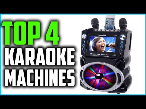 Top 4 Best Karaoke Machines For Fun