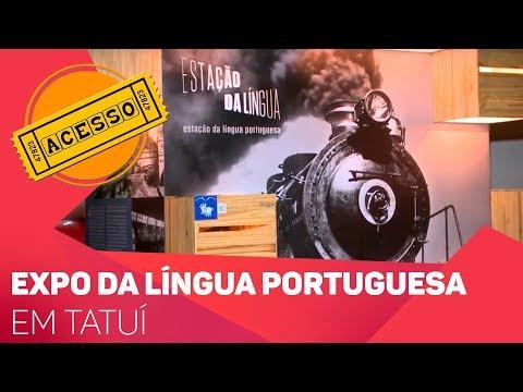Expo itinerante da Língua Portuguesa em Tatuí - TV SOROCABA/SBT