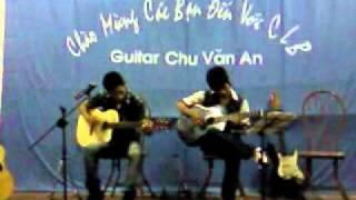Guitar CVA .||.bài ca trên đồi   Đại Nam, mr Kang