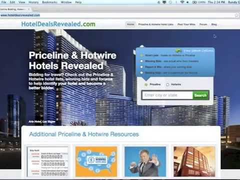 Then on the booking site (Hotwire/Priceline) find the hotel you are interested in booking. Compare the details from that hotel with the results from the search tool above. Match the results in the Priceline or Hotwire Hotel List with the hotel you're trying to identify on the booking site to see what hotel it could be.