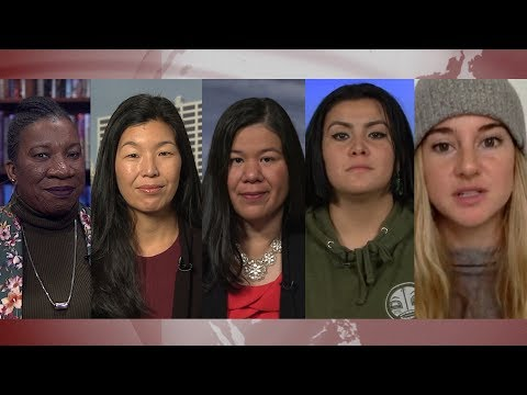 Time's Up: Meet Five Of The Women Who Staged Protest At Golden Globes Against Gender Violence