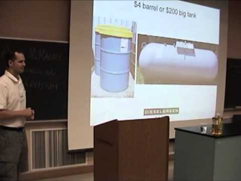 Waste Oil Collection Strategies - Jason Burroughs - CBC 2008