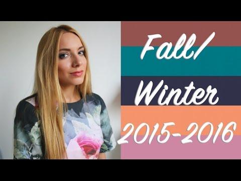 Колористика сезона Осень-Зима 2015-2016 ♡ Модные цвета Pantone