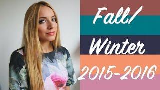 видео Модные женские цвета осень 2015 2016 года