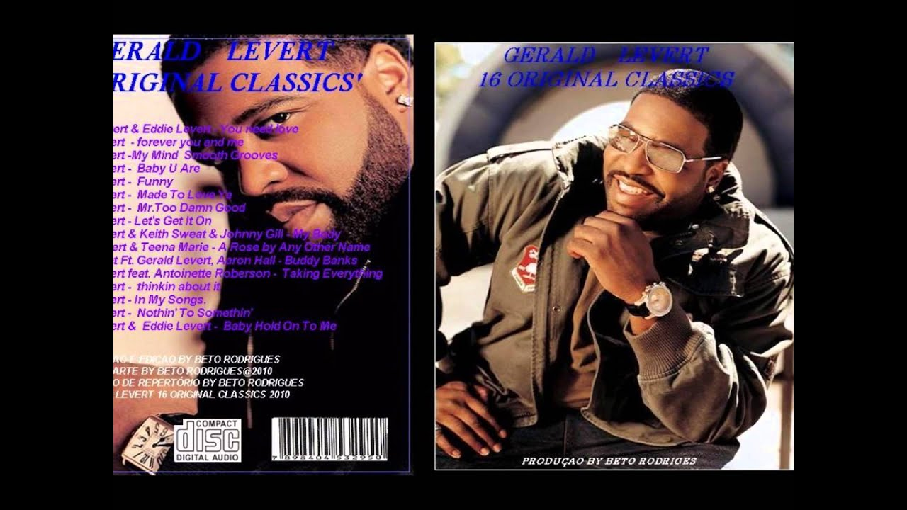 Gerald Levert Songs with just us - gerald levert - youtube