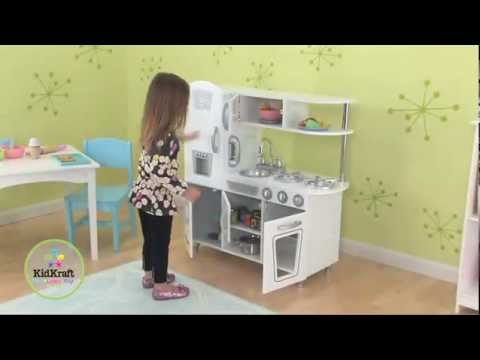 kidkraft weiße retroküche 53208 - youtube - Kidkraft Weiße Retro Küche 53208