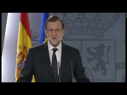 Rajoy - Muchas tardes y buenas gracias