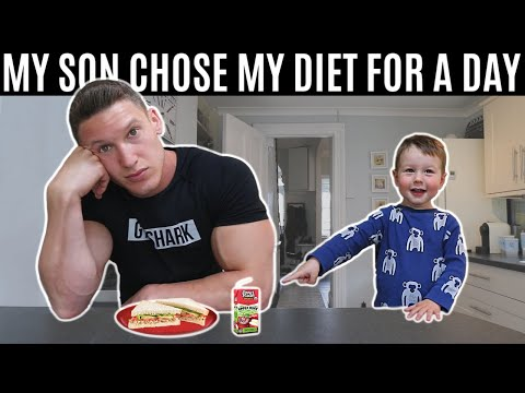 My son chose my diet for a day and this is what happened…
