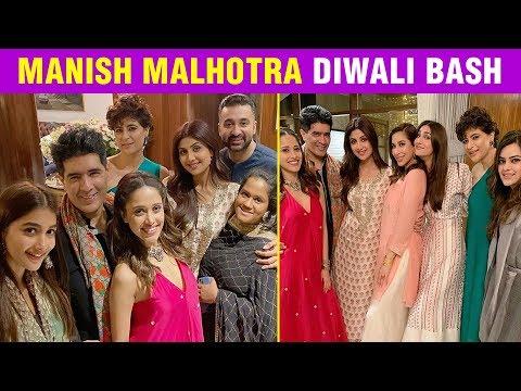 Manish Malhotra's Diwali Party   Karan Johar, Shilpa Shetty, Arpita Khan Enjoy The Bash