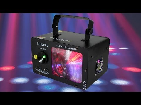 Beamz Enipeus 2-in-1 Colour LED Light With Laser