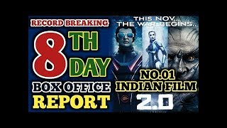 2.o 8th day box office collection